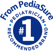PediaSure® #1 recommended brand